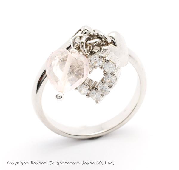 【愛を引き寄せる】ローズクォーツ・シルバーリングパワーストーン リング 指輪【手作り商品】