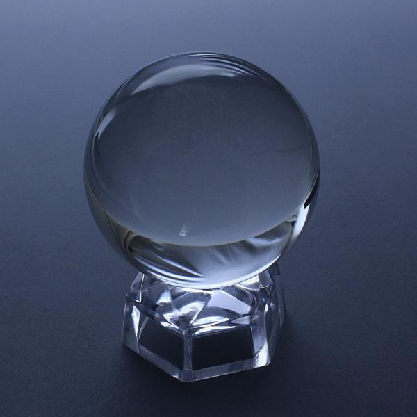 限定1個【完全無欠☆最上級の浄化パワー!!】鑑別書付☆天然・無垢・水晶丸玉(40.0mm)