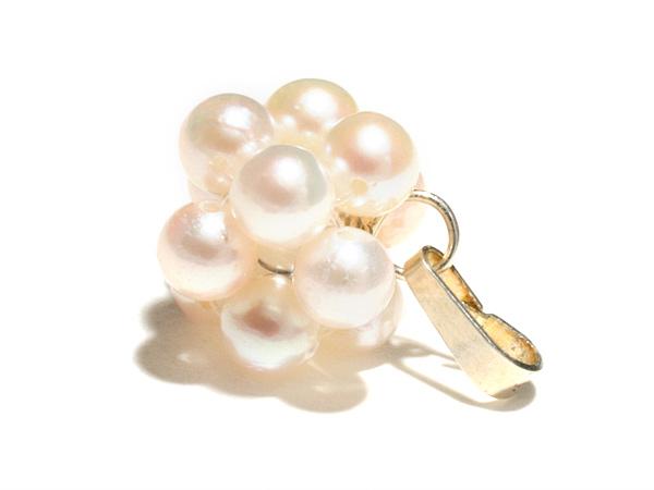 【優しい気持ちですべてを受け入れる】真珠・ペンダントトップ【手作り商品】パワーストーン ペンダント