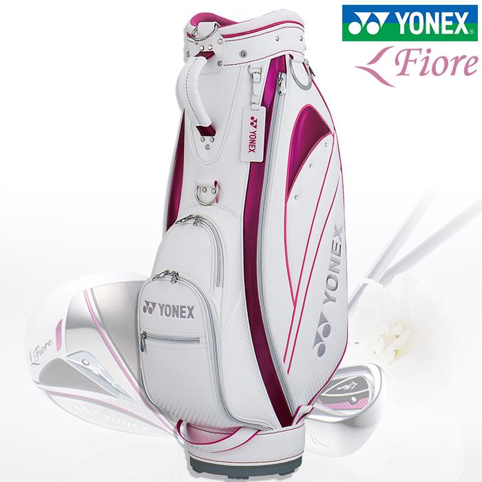 YONEX ヨネックス 8.5型 キャディーバッグ レディース CB-8853F ウィメンズゴルフバッグ【18】ゴルフ キャディバッグ バッグ ゴルフ用品 FIORE フィオーレ
