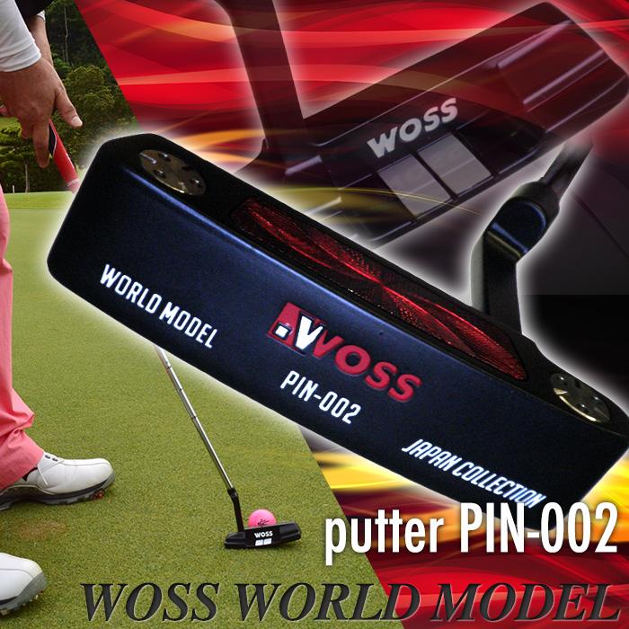 uozu(Woss)高尔夫球推杆针头覆盖物人黑色黑/推杆高尔夫球高尔夫俱乐部大头针型大头针型练习打法进步推杆汽车酒吧玩笑男性用的初学者世界型号pin-002/(黑色/白)促销奥特莱斯价格功率高尔夫球受欢迎