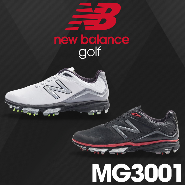 【MG3001】NEW BALANCE GOLF-ニューバランスゴルフ- MENS (メンズ) スパイク ゴルフシューズ【足幅:D(やや細め)】【ゴルフ用品】【16】