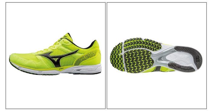 美津浓-美津浓-MENS(男子)波皇帝2宽大的跑步鞋