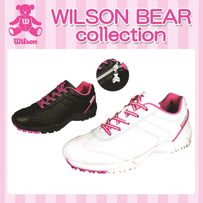 【WBS-1611(148246)】WILSON BEAR-ウィルソン ベア- LADYS (レディース) SPIKED-LESS SHOES スパイクレス シューズ【靴・シューズ】【2017年春夏カタログ商品】【17】  スポーツ・アウトドア ゴルフ パワーゴルフ powergolf 通販