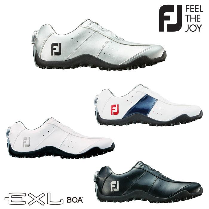 ゴルフシューズ イーエックスエル スパイクレス ボア FOOTJOY EXL Spikeless Boa MENS メンズ スパイクレス ゴルフシューズ 45180 45181 45182 45184【足幅:W(EE)タイプ】【ゴルフ用品】【18】