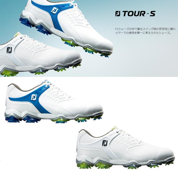 FOOTJOY フットジョイ ゴルフシューズ メンズ FJ TOUR-S ツアー エス 靴紐 シューレース【18】ゴルフ 24.5-27.5cm 靴 ゴルフ用品