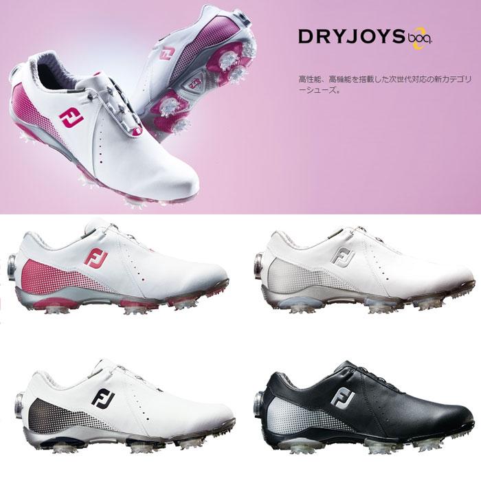 FOOTJOY フットジョイ ゴルフシューズ レディース DRYJOYS Boa ドライジョイズ スパイク ボア【18】ゴルフ 22.5-25cm 靴 ゴルフ用品