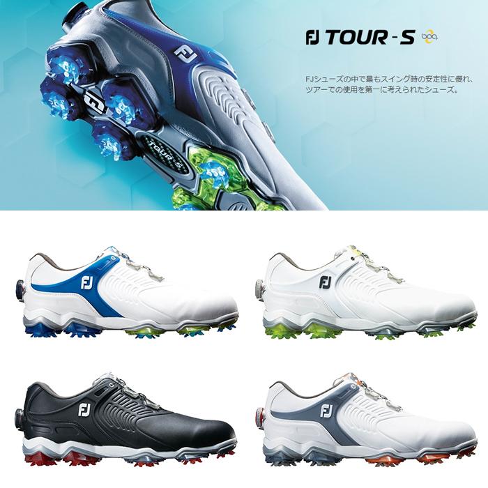 FOOTJOY フットジョイ ゴルフシューズ メンズ FJ TOUR-S boa ツアー エス ボア【18】ゴルフ 24.5-27.5cm 靴 ゴルフ用品