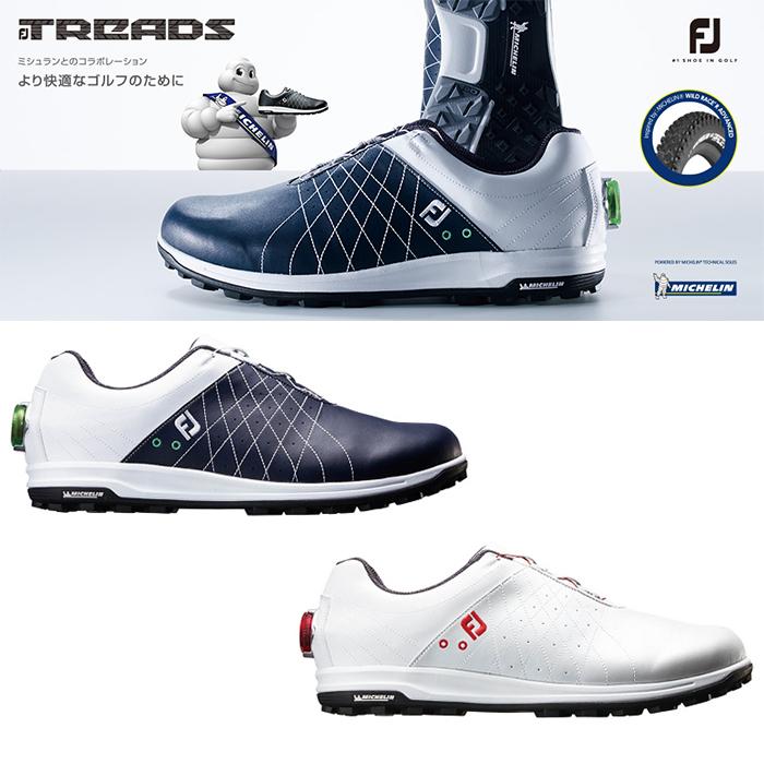 最高の品質 FOOTJOY ゴルフシューズ フットジョイ ゴルフシューズ メンズ FJ FJ TREADS Boa トレッド 24.5-27.5cm ボア【18】ゴルフ 24.5-27.5cm 靴 ゴルフ用品, ベンスタイル:070f1a10 --- aqvalain.ru