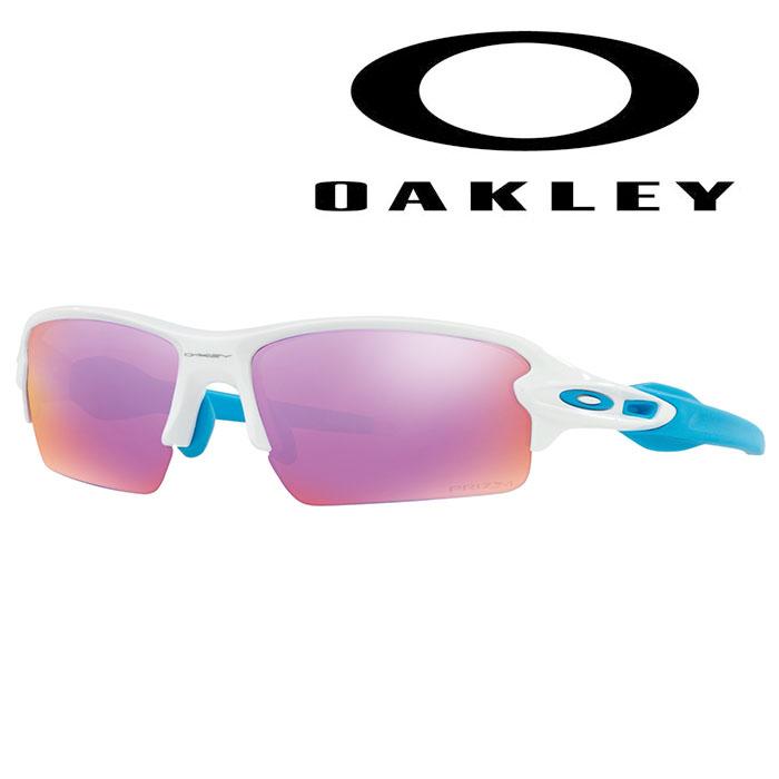 oo9271-2761 OAKLEY-オークリー- サングラス Flak 2.0 (Asia Fit) フレームカラー: polished white レンズカラー: prizm golf  【サングラス】【アセサリ】