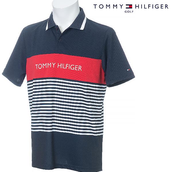 【35%OFF】TOMMY HILFIGER GOLF 2019年 春夏モデル トミーヒルフィガー 半袖シャツ メンズ THMA935