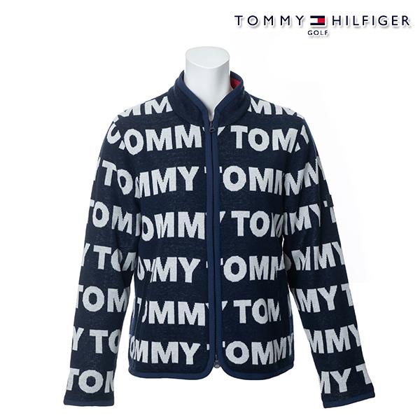 【SALE】トミーヒルフィガー 2019年秋冬モデル TOMMY HILFIGER レディース アウターニット ブルゾン THLA979【19】