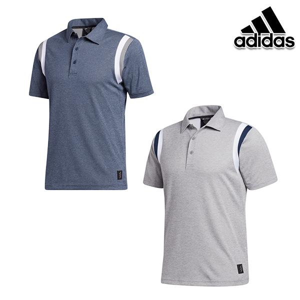 30%OFF アディダスゴルフ 秋冬モデル IUB32 メンズ ADICROSSラインド半袖シャツ GD9058 人気の製品 20 セール golf adidas ネイビー 特価キャンペーン 特価