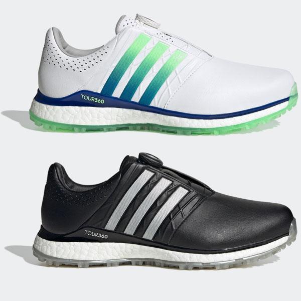 アディダス ゴルフシューズ メンズ あす楽 残り僅か 在庫あり アディダスゴルフ 高級 GVS00 EG4879 adidas ホワイトロイヤルブルーミント golf ツアー360XT-SLボア2ゴルフシューズ 20
