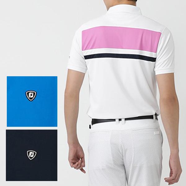 フットジョイ ゴルフウェア 50%OFF 春夏モデル メンズ 半袖シャツ FJ-S20-S21 即納最大半額 正規認証品 新規格 ゴルフウエア 春夏 20 クリアランスセール 特価