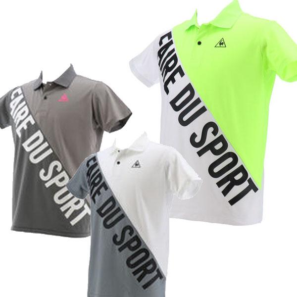 ルコック メンズ 特価 セール 公式 出荷 WEB限定タイムセール 50%OFF ゴルフ 20 ゴルフウエア 春夏モデル QGMPJA34 春夏 半袖シャツ
