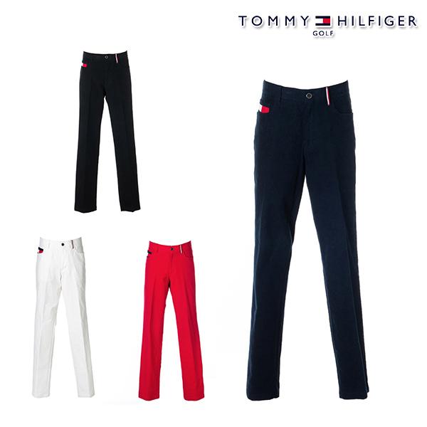 トミーヒルフィガー 2020年秋冬モデル メンズ TOMMY HILFIGER GOLF BASIC STRAIGHT-STYLE LONG PANTS パンツ thma069 【20】