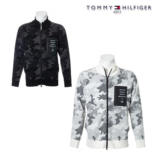 トミーヒルフィガー メンズ ニット お買い得品 セーター 残り ブラックMサイズ 1枚限り 30%OFF 秋冬モデル TOMMY HILFIGER ジップアップニット 20 CAMOFLAGE 特価 thma097 ZIP-UP フルジップタイプ KNIT GOLF セール 登場大人気アイテム
