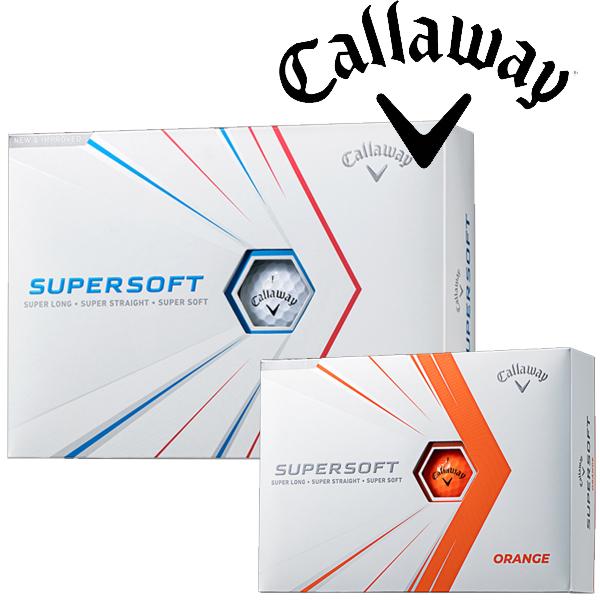 キャロウェイ ゴルフ ボール スーパーソフト キャロウェイゴルフ SUPER SOFT 21 12球 JV 上品 1ダース ゴルフボール 春の新作続々