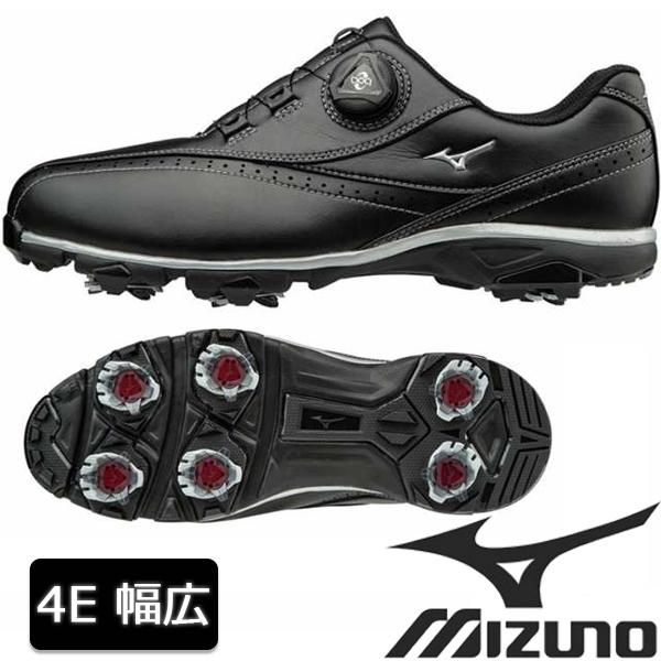 価格 幅広 ミズノ 4E ゴルフ シューズ 情熱セール SALE セール MIZUNO ゴルフシューズ 19 特価 メンズ ソフトスパイク ボア 51GQ1740 EEEE 幅 ワイドスタイル002
