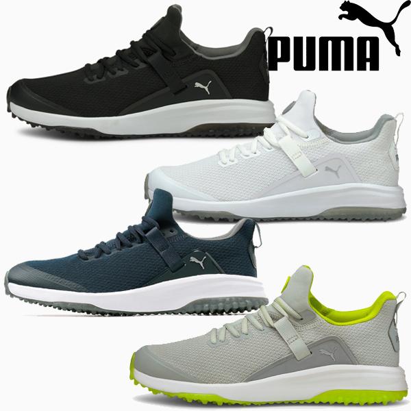日本最大級の品揃え PUMA GOLF ゴルフ フュージョン 超定番 EVO スパイクレス シューズ 3E相当 プーマゴルフ プーマ 靴 メンズ ゴルフシューズ 193850 紐 フュージョンEVO 2021年春夏モデル 21