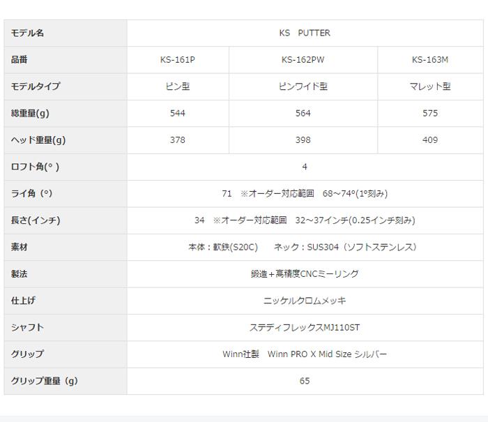 Maruman-丸萬-MAJESTY-majiesuti-KS PUTTER KS推桿