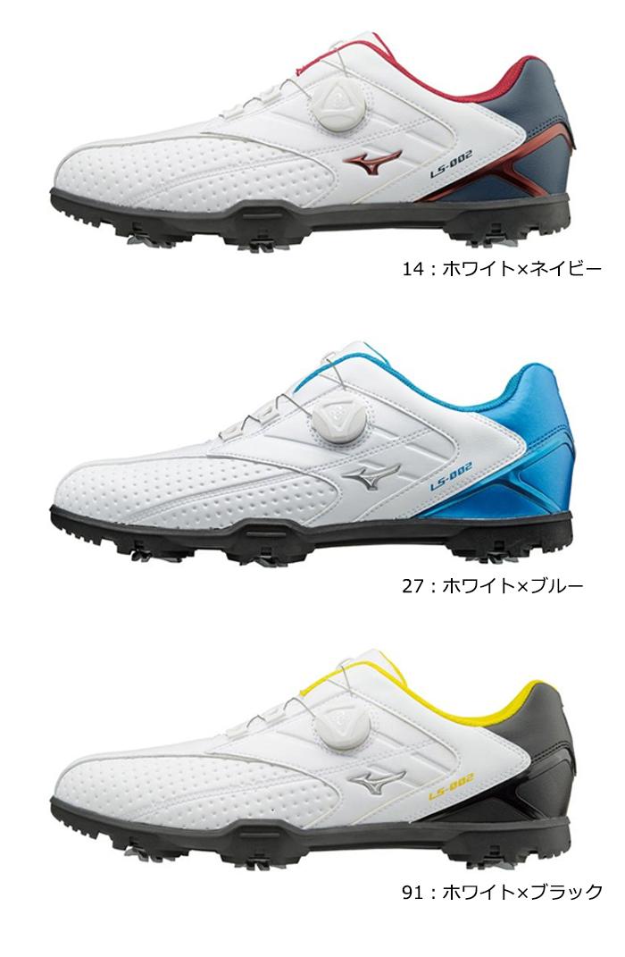 美津浓-美津浓-LIGHT STYLE 002 Boa MENS(男子)灯风格002毛皮围巾高尔夫球鞋