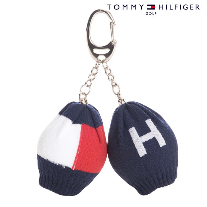 トミーヒルフィガー ゴルフ 輸入 ボールホルダー TOMMY HILFIGER THMG7SM4 ボールケース ボール入れ 美品 17