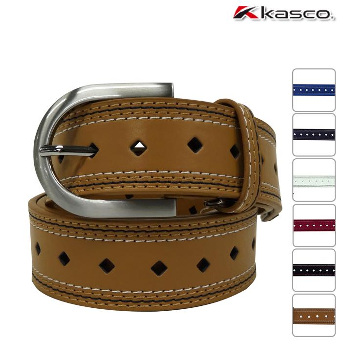 パンチングがポイント +.カラーが豊富なベルト KASCO キャスコ 開店祝い メンズ ベルト KBT-014 KASCO-キャスコ- WEB限定タイムセール アクセサリ アウトレット パンチングベルト
