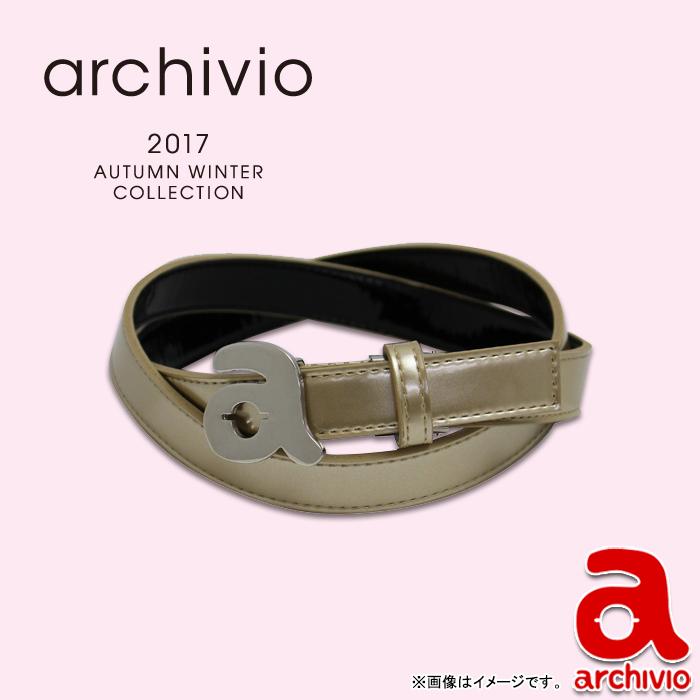 【A710809】archivio-アルチビオ- (レディース) ベルト【17】【小物】【アクセサリ】
