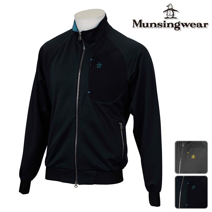 ◆Munsingwear マンシングウェア 長袖シャツ MENS メンズ 長袖 シャツ JWMK553 秋冬モデル【17】ゴルフウェア トップス ウエア M L LL 3L サイズ