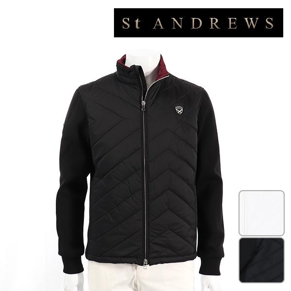 St ANDREWS セントアンドリュース メンズ ブルゾン 042-8222151 NEW 秋冬モデル 【18】アウター M L LL サイズ ゴルフウェア