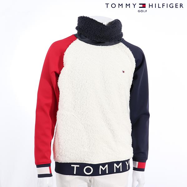 【11月12日21時~14日20時59分まで、ポイント10倍!】TOMMY HILFIGERトミーヒルフィガー メンズ セーター thma896 NEW 秋冬モデル 配色切替 プルオーバー【18】トップス M L LL XL ゴルフ