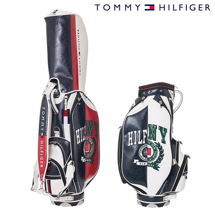 トミーヒルフィガー キャディバッグ UNISEX ユニセックス THMG8FC1【18】リミテッド キャディーバッグ バッグ 9型 46インチ対応 ゴルフ用品
