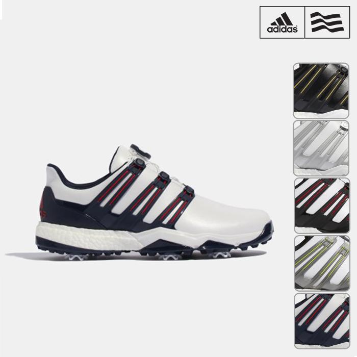ゴルフシューズ シューズ adidas Golf アディダスゴルフ ゴルフシューズ メンズ F33677 F33678 powerband Boa boost パワーバンドボアブースト WI926【18】サイズ25.0cm-28.0cm 幅EEE