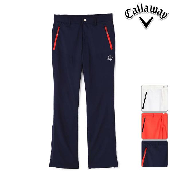 【50%OFF】キャロウェイアパレル メンズ 春夏モデル ノータック ロング 撥水 パンツ M L LL XL 3L サイズ Callaway Apparel【18】 2418120501