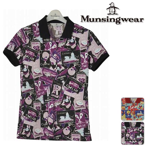 【40%OFF!】マンシングウェア レディース 2018年春夏モデル 半袖 シャツ Munsingwear【18】ゴルフ mgwlja19