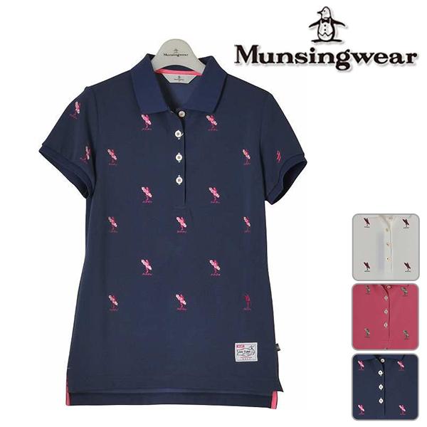 【40%OFF!】マンシングウェア レディース 2018年春夏モデル 半袖 シャツ Munsingwear【18】ゴルフ mgwlja25