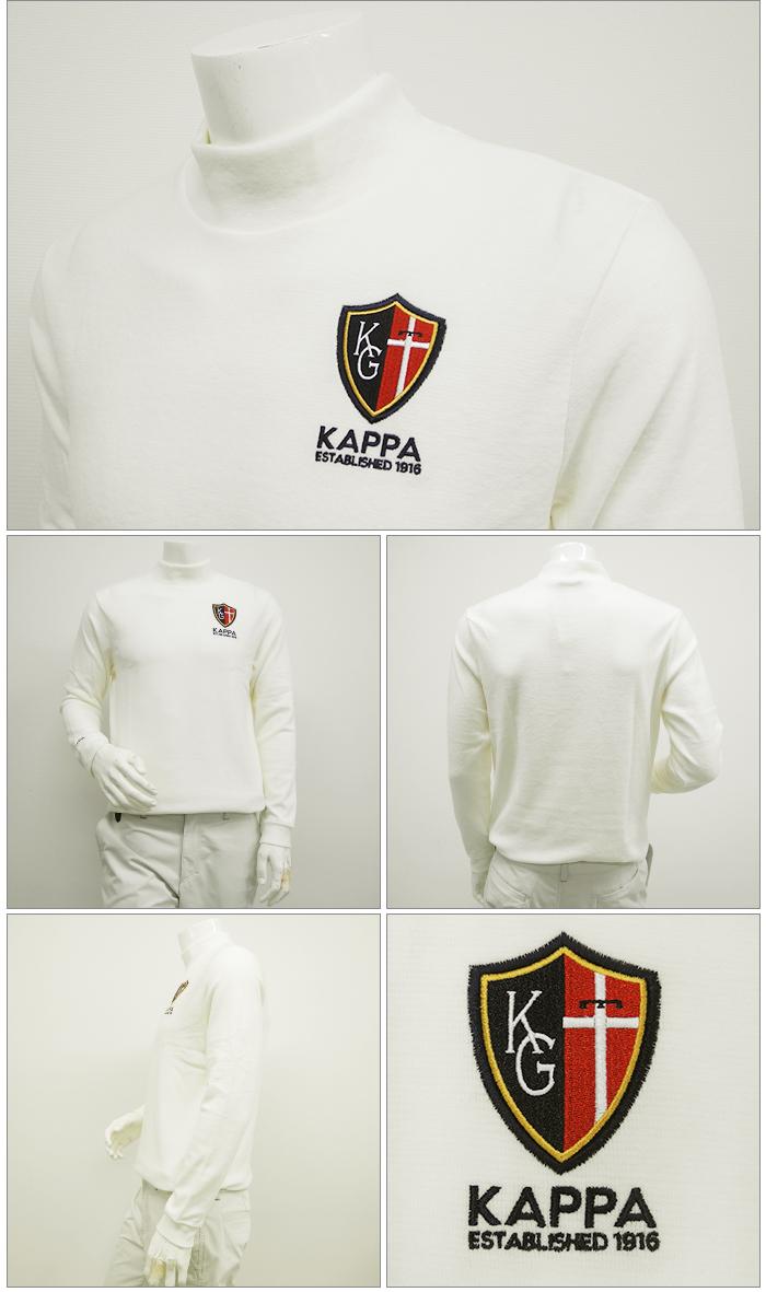 KAPPA GOLF-雨衣高爾夫球-MENS(男子)高領長袖子襯衫M,L,O,XO尺寸