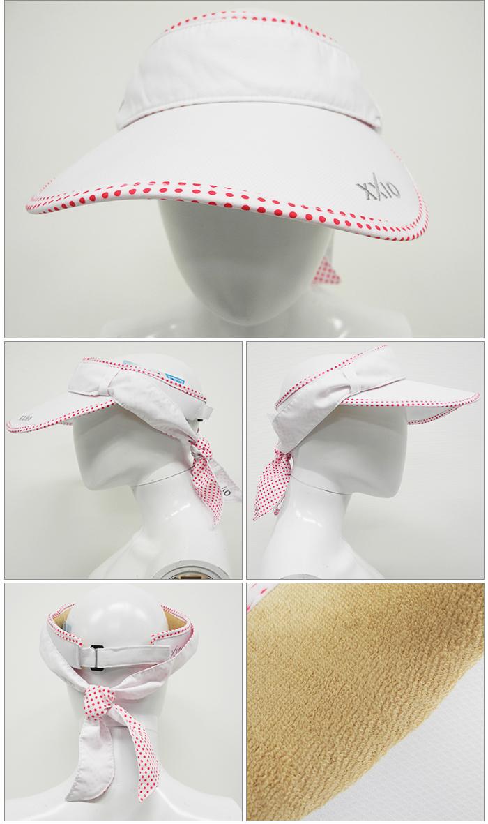 DUNLOP- Dunlop - XXIO- ゼクシオ - LADIES (Lady's) 5way cooling visor (visor, neck warmer)