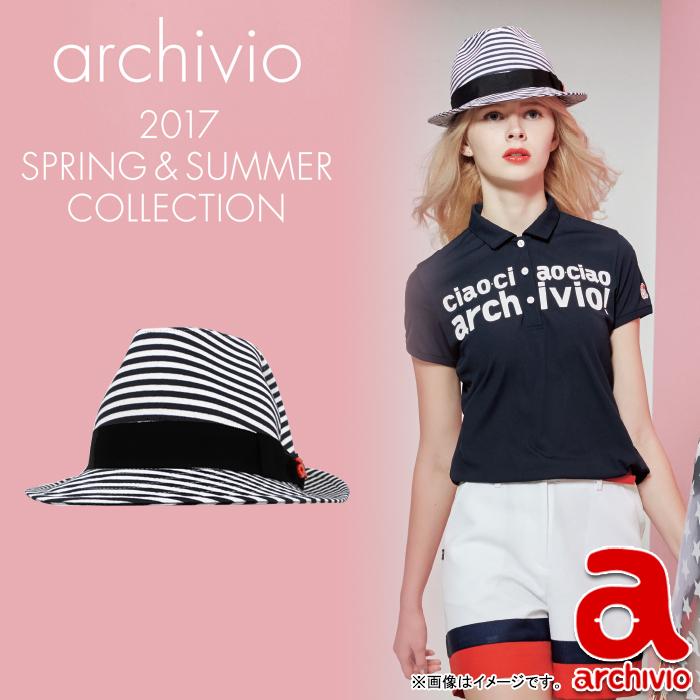 【40%OFF】【A650311】【春夏モデル】archivio-アルチビオ- LADYS (レディース) 中折れ帽【17】【ゴルフ用品】