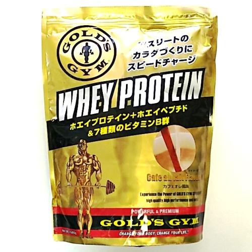 ゴールドジム GOLD's GYM プロテイン カフェオレ 1.5 1.5kg ホエイ トレーニング 補助 食間 食後 運動後 おいしい ホエイペプチド 送料無料 1,500g カフェオレ 風味 ホエイプロテイン
