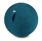 ペトロールブルー 55cm バランスボール VLUV ヴィーラヴ ファブリックシーティングボール SBV002.55CPE2