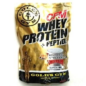 10%OFFクーポン対象 ゴールドジム ホエイプロテイン+ペプチド&ビタミンB リッチミルク風味 2kg F3320