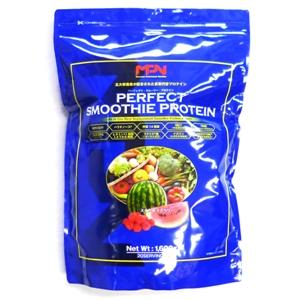 パーフェクトスムージープロテイン 送料無料 1,600g スイカ&ラズベリー MPN ボディフィット MRP HMB 乳酸菌 食物繊維 MCT パラチノース ホエイ 大豆 ソイ Whey Soy ダイエット 減量 シェイプアップ