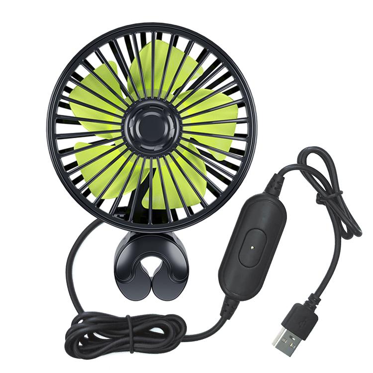 大幅値下げランキング サーキュレーターとして車内の空気循環も 車載扇風機 お買い得品 USB給電式 ヘッドレスト取付型 ミニ扇風機 風量3段階 風向き調節可 USB送風機 アロマ対応 工具不要 リアシートファン JL-SSHRF407 カーファン
