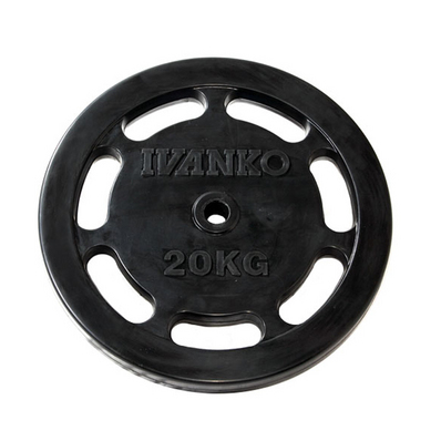 イバンコ RUBKZ ラバースタンダードプレート 20.0kg φ28mm