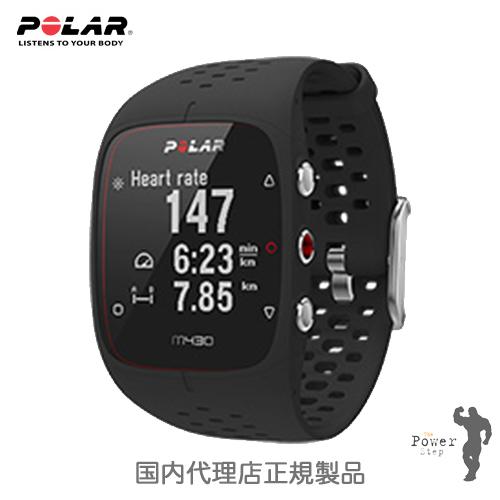心拍ベルト不要!!POLAR ポラールM430 ブラック(光学式心拍計・GPS搭載)