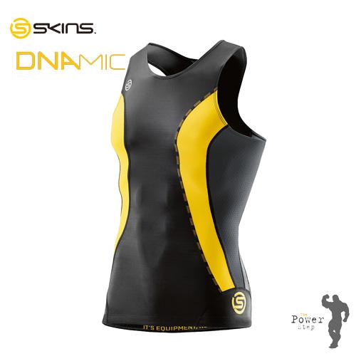 スキンズSKINS A200 DNAMIC CORE メンズスリーブレストップ(DK9905003)スキンズの遺伝子を継承するNew MODEL動的段階的着圧(ダイナミックコンプレッション)[着圧][筋肉][疲労軽減][持久力][酸素力]