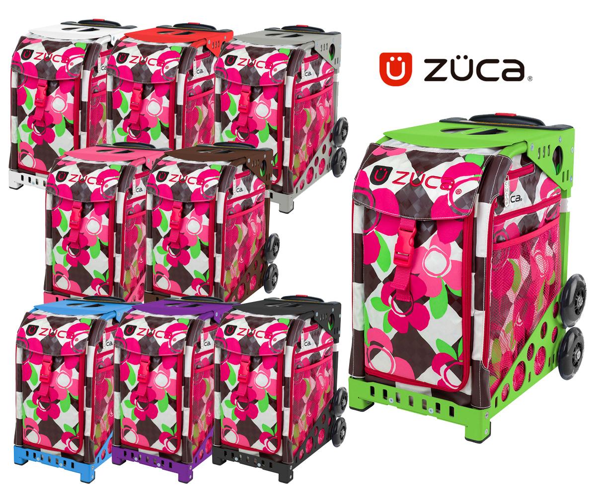 【保証付き正規品】ズーカ スポーツ Blossom- ZÜCA SPORTS Blossom-【ネームタグ付き】【軽量】【頑丈】【デザイン性】【キャリーバッグ】【椅子】【スケート】【anan】送料無料